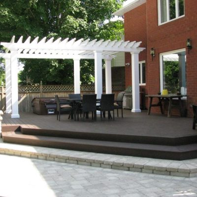 A patio or terrace must fully reflect your personality.  It must meet your needs.  When you meet one of our representatives, everything must be considered, the size, materials, accessories such as privacy panels, flower boxes, outdoor furniture or relaxation area in order to customize and fully enhance your outdoor space.